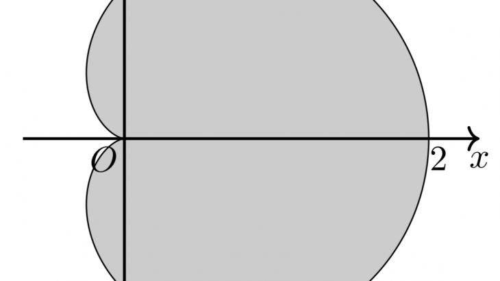 媒介変数表示されたグラフの面積の求め方を例題付きで解説!検算に使える定理も教えます!