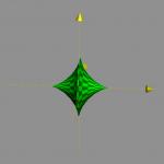 媒介変数表示された回転体の体積の求め方を問題付きで解説!